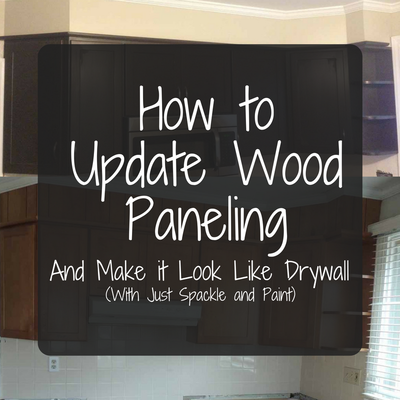 How to make paneling look like drywall 5 easy steps to a Ways to update wood paneling